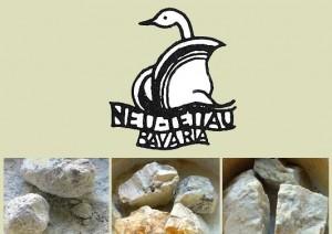 Rohkaolin, Feldspat, Quarz ... und Beispiel Bodenmarke