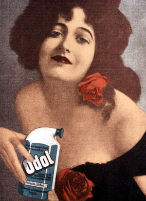 Bild aus der Odol-Werbung
