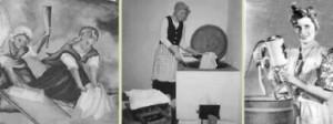 Schlagbrett, Waschkessel, Schallwäscher