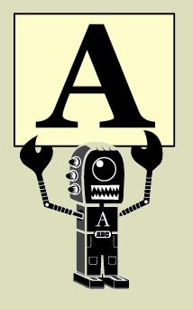 Maskottchen des AlphaBattles von LetterCult