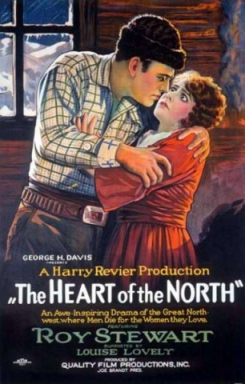 Filmplakat ... Heart Of The North