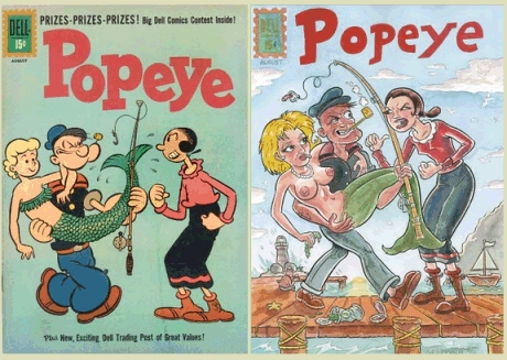 Anthony Vukojevich covers Popeye 60