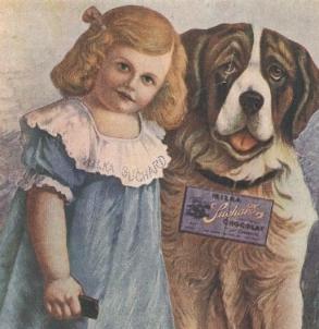 Der Milka-Hund ...